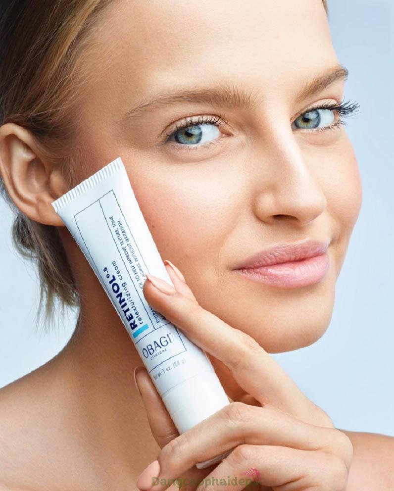 Obagi Clinical Retinol 0.5 Retexturizing Cream - Giải pháp khắc phục hiệu quả các khuyết điểm trên da