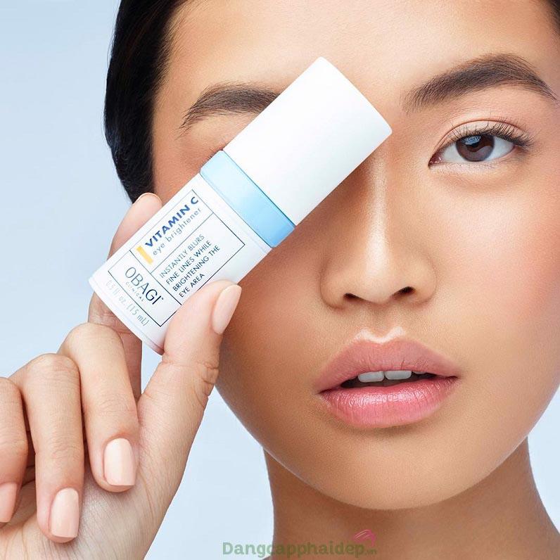 """Obagi Clinical Vitamin C Eye Brightener chính là """"siêu phẩm"""" dành cho đôi mắt quầng thâm, nhiều nếp nhăn"""