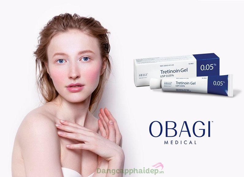 Các nhược điểm trên da đều được khắc phục hiệu quả sau thời gian sử dụng Obagi Tretinoin Gel 0.05%