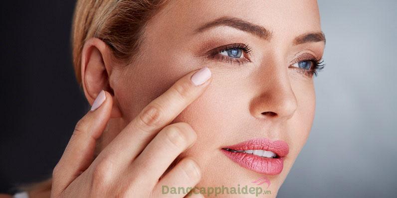 Muốn dưỡng da vùng mắt căng trẻ không nếp nhăn hãy bắt đầu sử dụng Swissline Aqua-Vitale Corrective Eye Cream