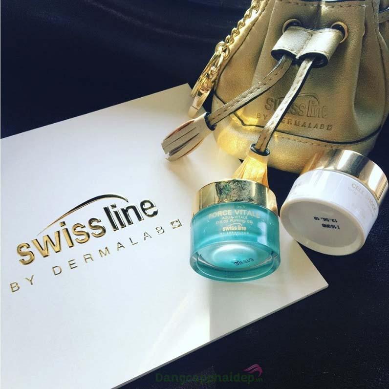 Swissline Aqua-Vitale De-Puffing Eye Gel là giải pháp tốt nhất để loại bỏ bọng mỡ, quầng thâm mắt...