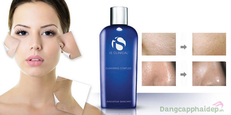 Sữa rửa mặt iS Clinical Cleansing Complex mang đến nhiều tác dụng chăm sóc da tối ưu
