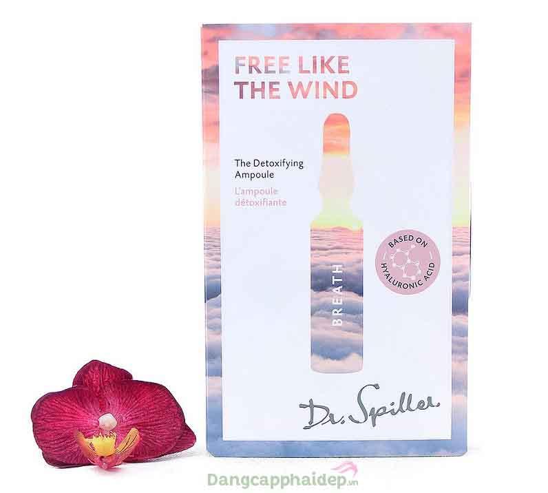 Dr Spiller Free Like The Wind Breath Detoxifying Ampoule – Tinh Chất Thải Độc, Làm Sạch Cho Da Dầu Mụn