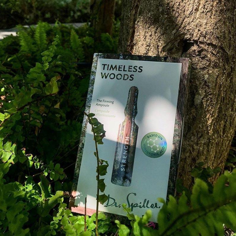 Dr Spiller Timeless Woods Strength Firming Ampoule - giải pháp tối ưu cho làn da lão hóa, chảy xệ...