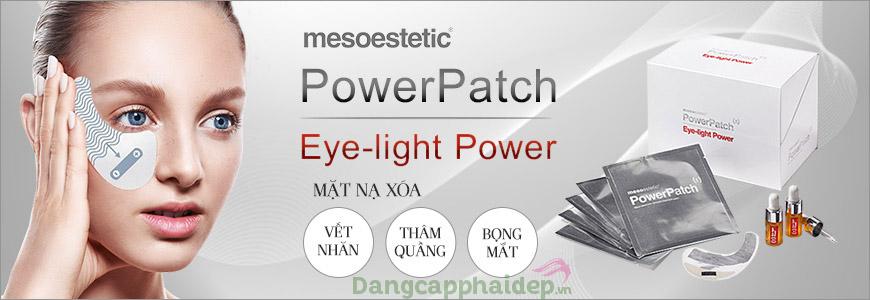 Mesoestetic Power Patch Eye Light - Giải pháp chăm sóc da vùng mắt hoàn hảo
