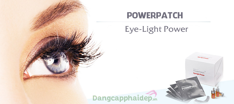 Lấy lại vẻ đẹp làn da vùng mắt căng sáng, trẻ trung với miếng dán mắt Mesoestetic Power Patch Eye Light