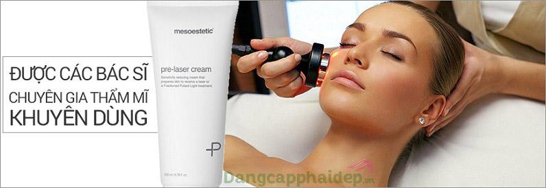 Mesoestetic Pre-laser Cream - giải pháp chăm sóc da trước laser được chuyên gia khuyên dùng