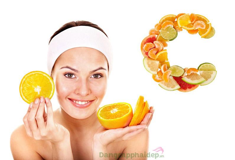 Vitamin C mang lại nhiều tác dụng chăm sóc da tối ưu