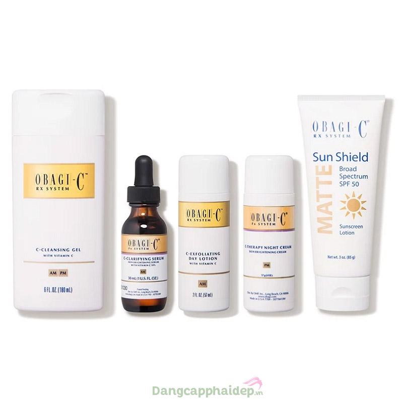 Obagi-C Rx System Normal Dry - Giải pháp toàn diện đẩy lùi sạm nám, dưỡng trắng sáng da hoàn hảo