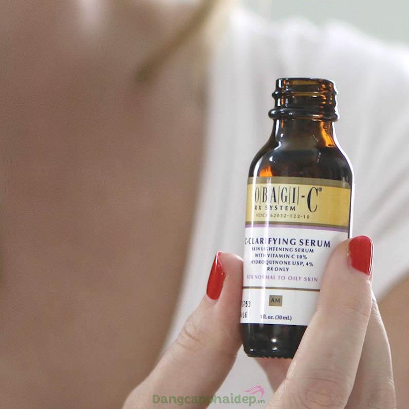Serum dưỡng trắng da trị thâm nám Obagi-C Rx C-Clarifying Serum