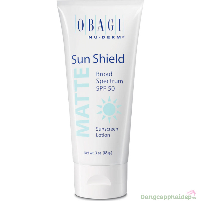 Kem chống nắng phổ rộng Obagi Sun Shield Matte Broad Spectrum SPF 50