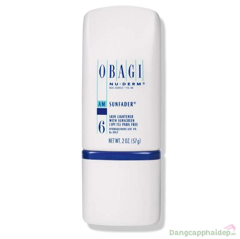 Obagi NuDerm Sunfader SPF 15 57g – Kem làm trắng, chống nắng ngừa nám da