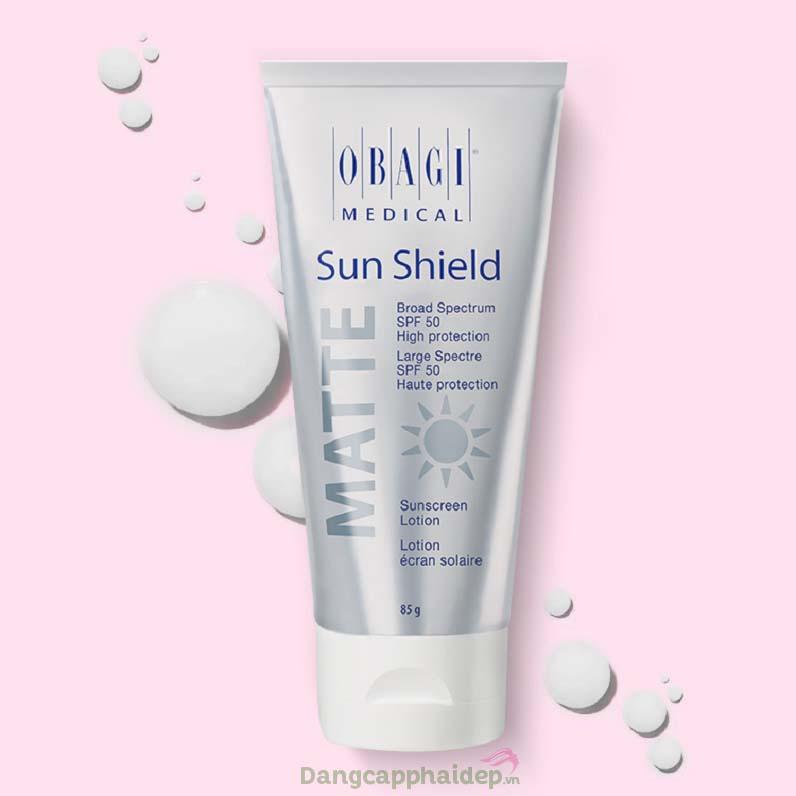 Obagi Sun Shield Matte Broad Spectrum SPF 50 Premium - Giải pháp chống nắng bảo vệ da toàn diện