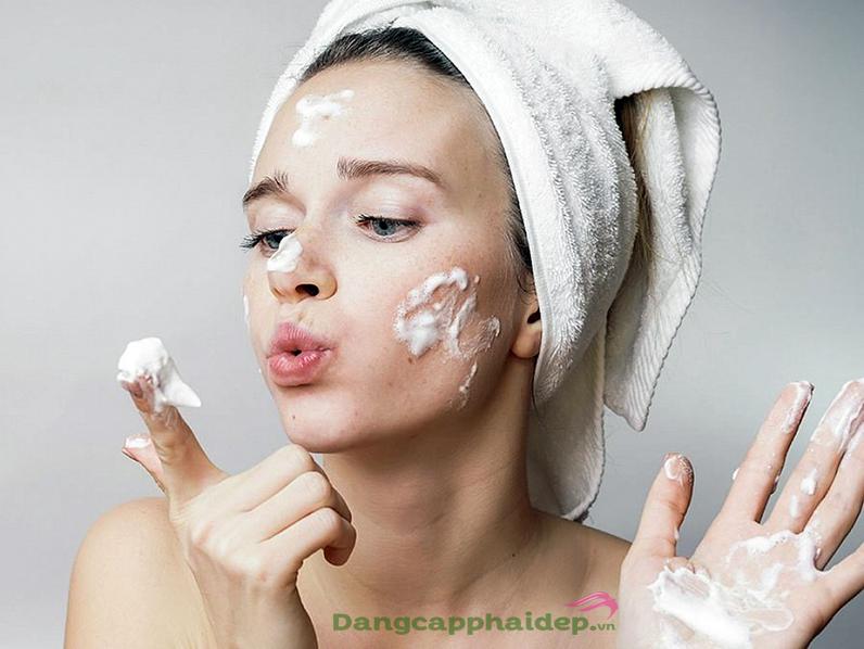 quy trình chăm sóc da mặt