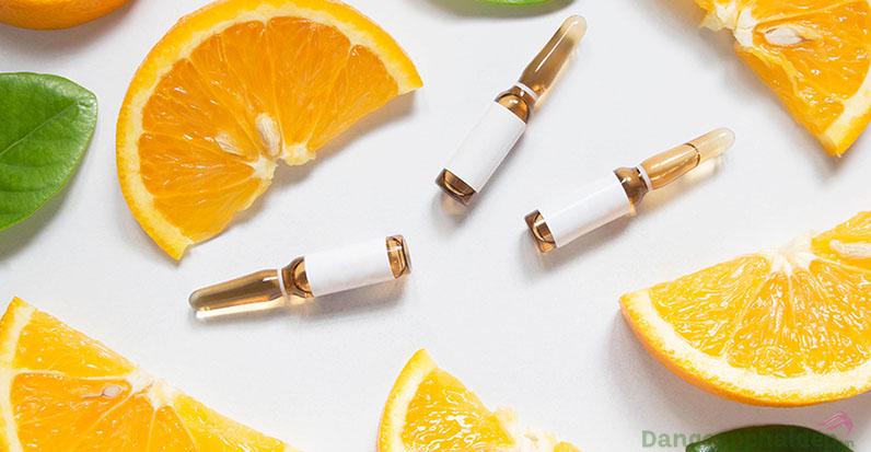 Vitamin C (L - ascorbic) 7,5 % chống oxy hóa, kích thích sản sinh collagen.