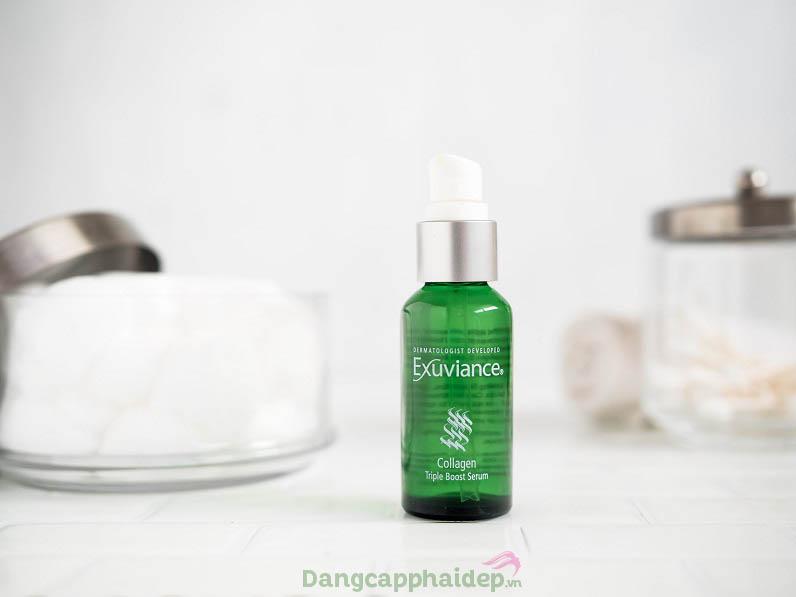 Exuviance Collagen Triple Boost Serum giải pháp đẩy lùi lão hóa da hiệu quả.