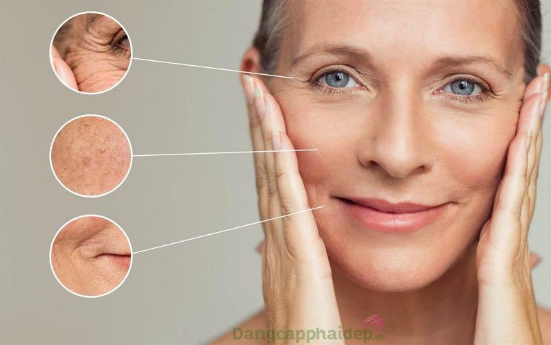 Sản phẩm an toàn cho mọi loại da, đặc biệt là da lão hóa