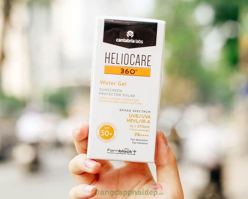 Heliocare 360 Water Gel SPF 50 phù hợp cho mọi loại da, kể cả da nhạy cảm