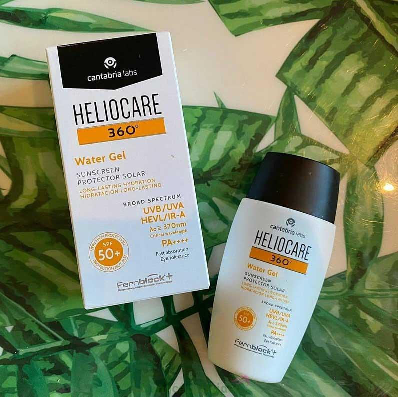 Bảo vệ da toàn diện chống tia UV, HEVis và IR-A chỉ với kem chống nắng Heliocare 360 Water Gel SPF 50