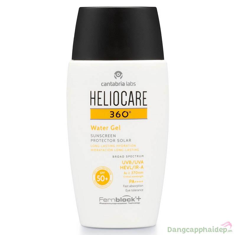 Heliocare 360 Water Gel SPF 50 – Kem Chống Nắng Dạng Gel Không Dầu