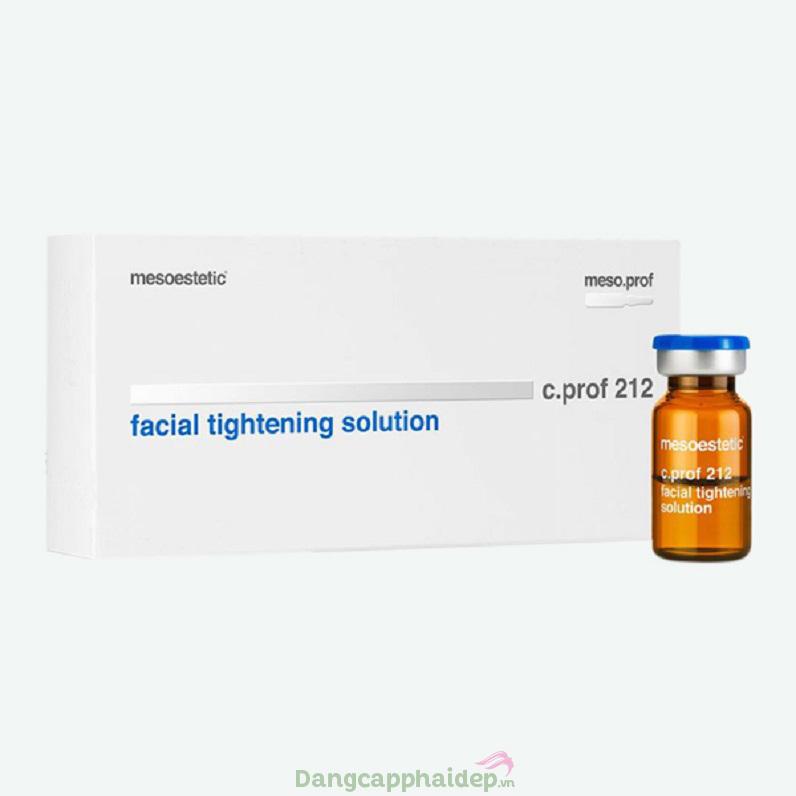 Mesoestetic C. Prof 212 Facial Tightening Solution - Giải pháp làm săn chắc da tối ưu
