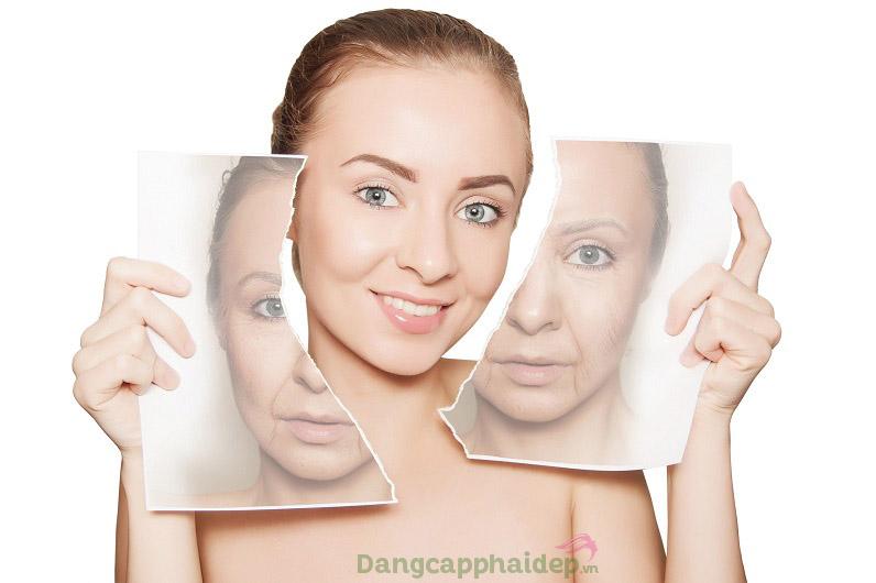 Cải thiện làn da săn chắc, đàn hồi và tươi mới hơn sau sử dụng Mesoestetic C. Prof 212 Facial Tightening Solution