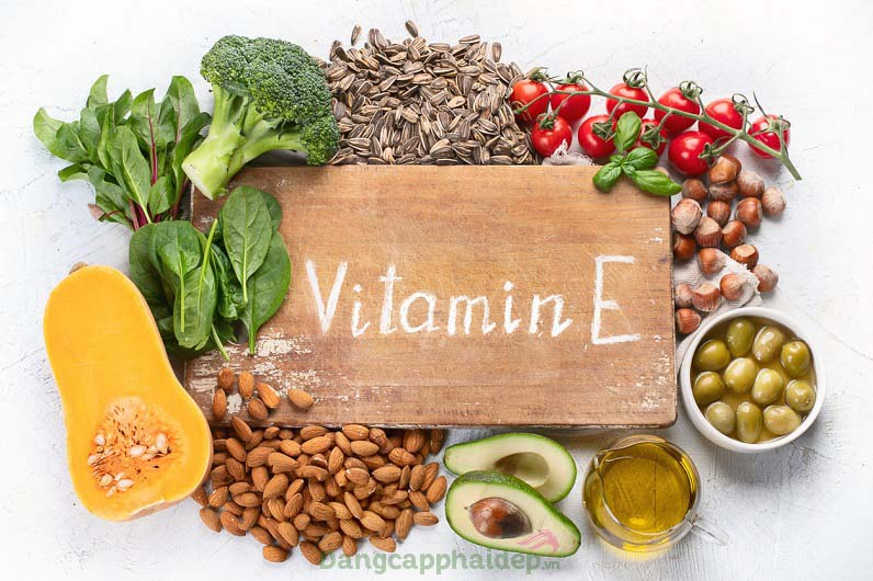 Vitamin E phát huy tối đa hiệu quả dưỡng ẩm, bảo vệ làn da