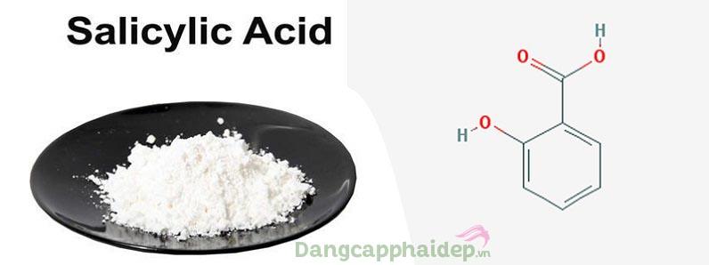 Salicylic Acid xuất hiện rất nhiều trong các dòng mỹ phẩm chuyên trị mụn