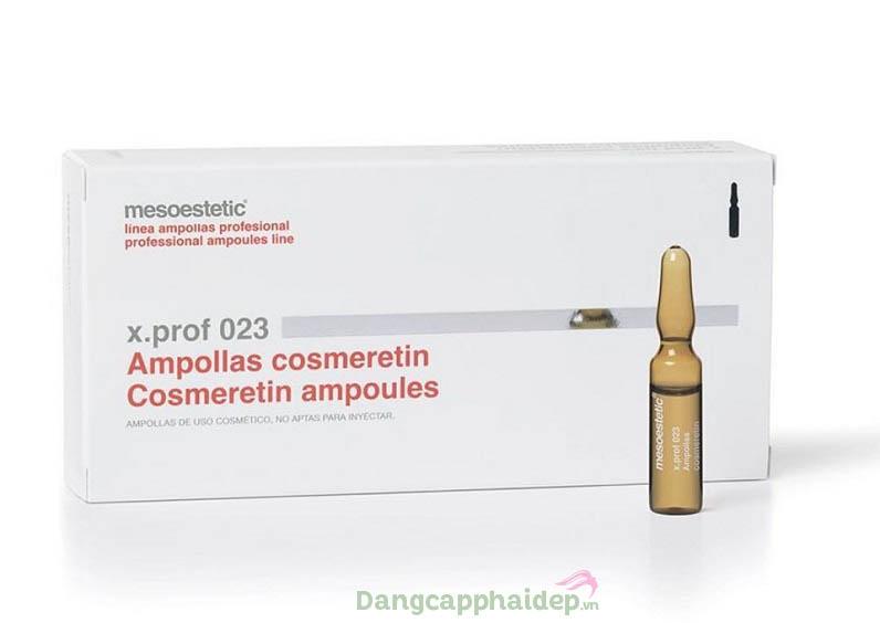 Trì hoãn quá trình lão hóa da với Mesoestetic X.Prof 023 Cosmeretin
