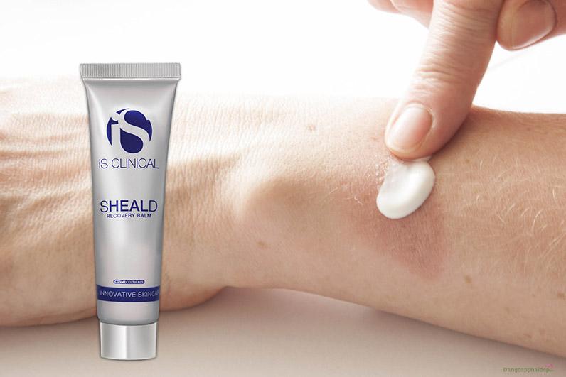 """Sheald Recovery Balm """"thách thức"""" mọi làn da bị tổn thương."""