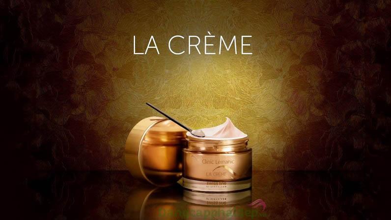 Swissline Clinic Lémanic LA Cream - Siêu phẩm trẻ hóa da từ tế bào gốc
