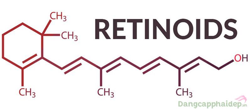 Retinoids là dẫn xuất của Vitamin A.