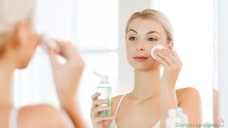 Chọn một sản phẩm chăm sóc da chuyên nghiệp duy nhất và kiên trì sử dụng ít nhất 12 tuần.