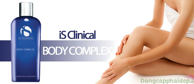 is clinical body complex vừa dưỡng thể vừa điều trị các vấn đề của da.