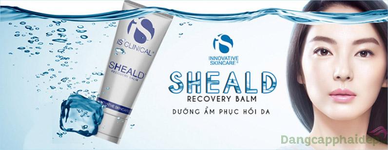 Sheald Recovery Balm dưỡng ẩm cấp kì cho làn da khô nứt, phục hồi da tổn thương.