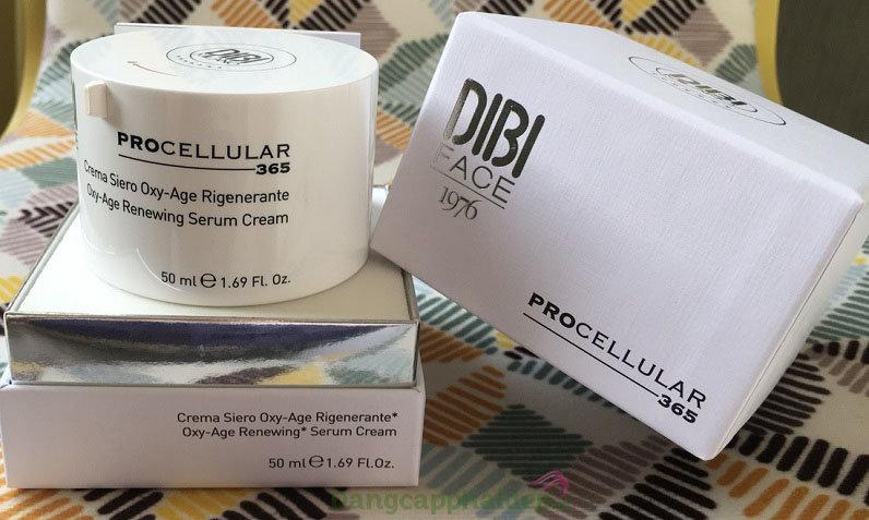 Dibi Procellular 365 Oxy Age Renewing Serum Cream 50 ml - Serum Chống Oxy Hóa Tái Tạo Và Trẻ Hóa Da