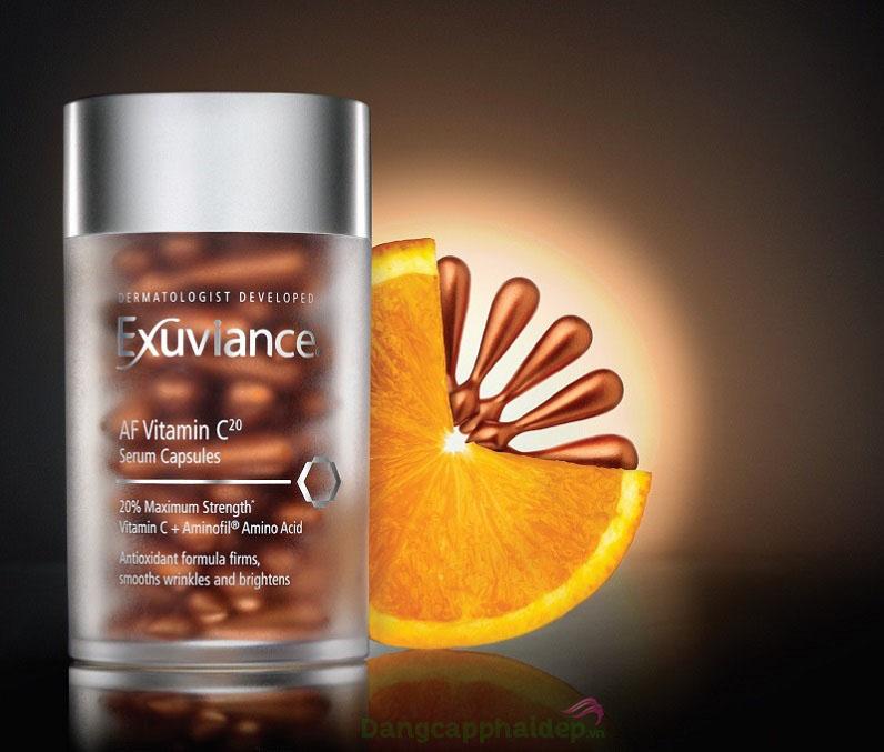 Sản phẩm với công thức chứa đến 20% vitamin C