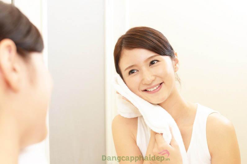 Làn da sạch khỏe, tươi trẻ lâu dài khi duy trì sử dụng sữa rửa mặt mỗi ngày