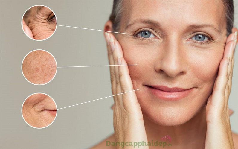 Khắc phục các dấu hiệu lão hóa da chỉ sau thời gian ngắn sử dụng tinh chất