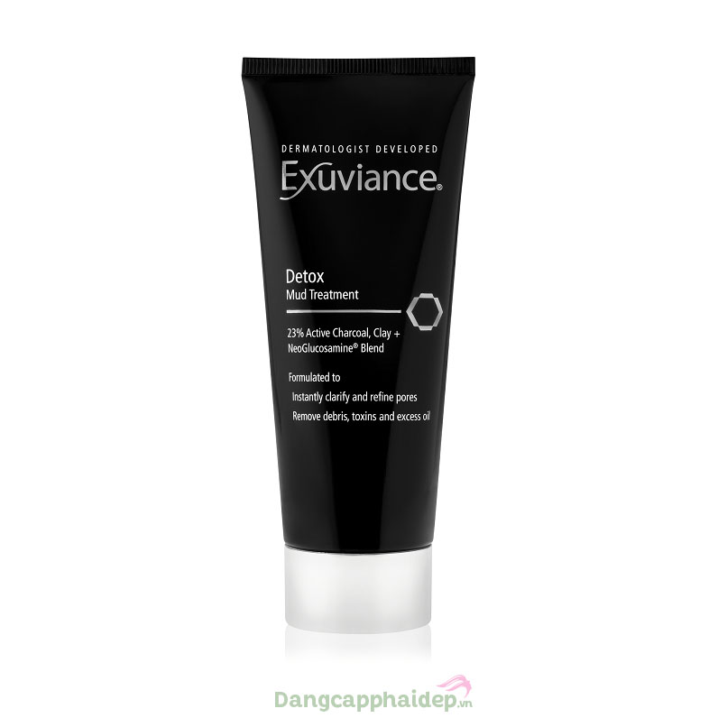 Mặt nạ bùn than hoạt tính thải độc da Exuviance Detox Mud Treatment
