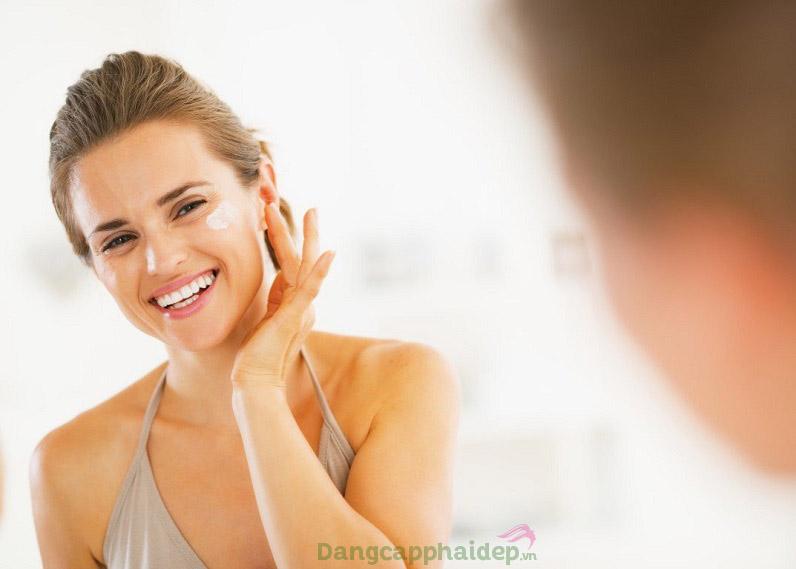 Kem dưỡng an toàn cho mọi loại da.