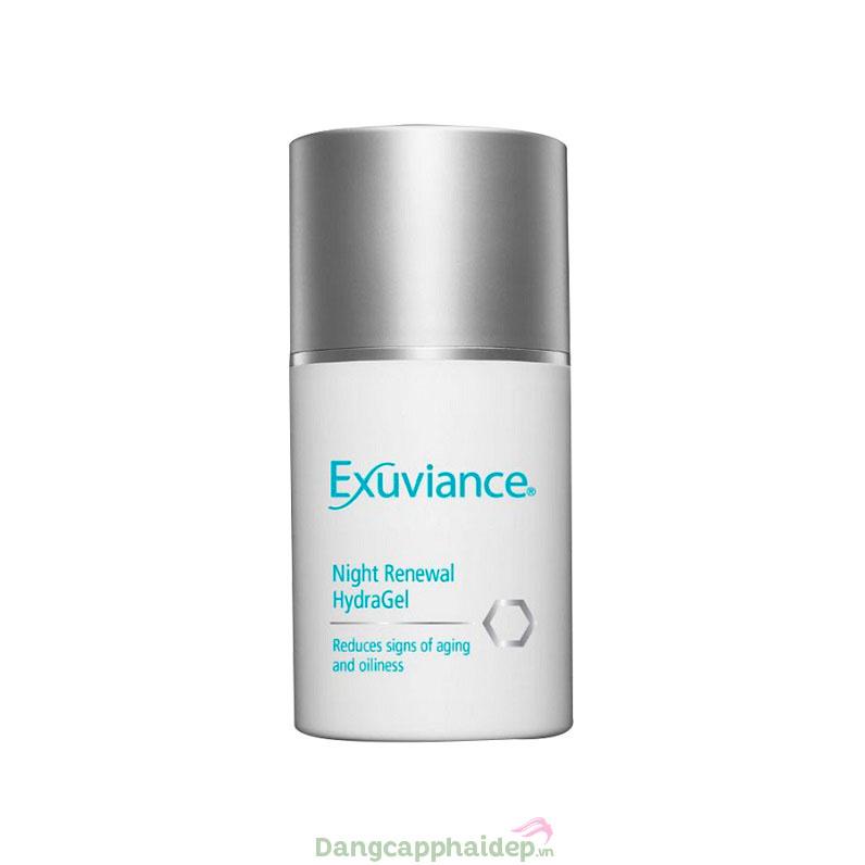 Gel dưỡng ẩm tái tạo da ban đêm Exuviance Night Renewal HydraGel