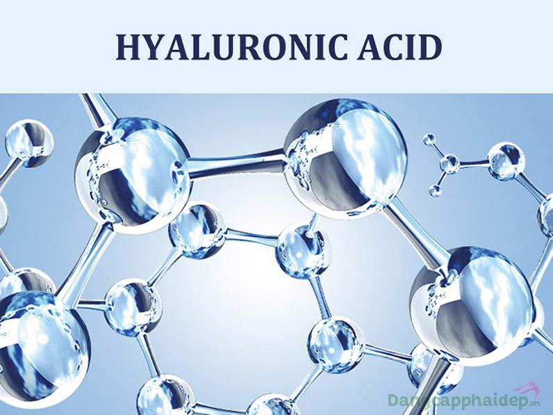 Hyaluronic acid siêu cấp nước cho da.