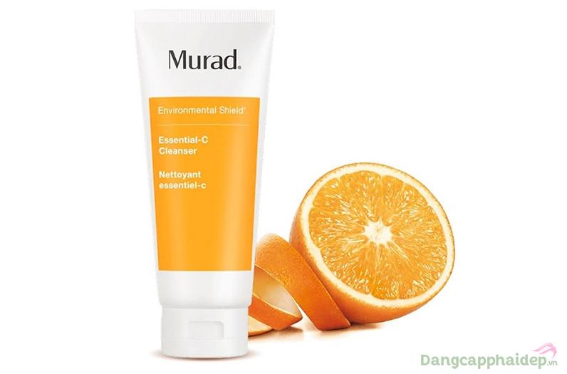 Mùi hương cam dịu nhẹ mang đến tinh thần sảng khoái sau rửa mặt.