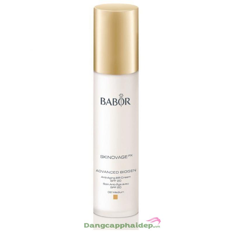 Kem BB chống lão hóa da Babor AB Age Preventing BB Cream 02 medium SPF 20
