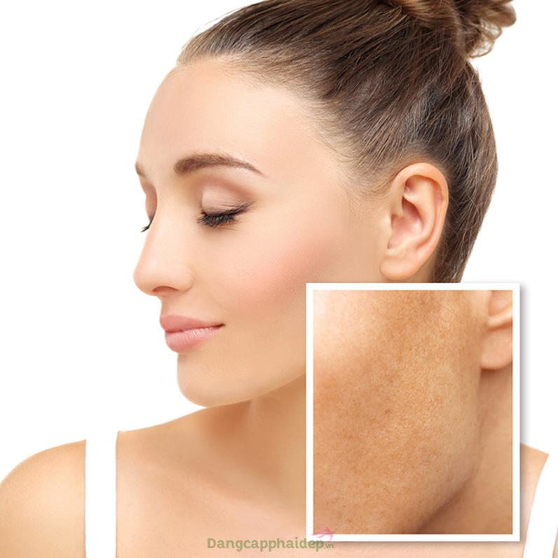 Collagen Fleece Mask with Fruit Acid mang lại làn da mịn màng tươi trẻ như nhung.
