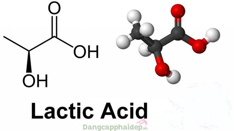 Lactic acid giúp tái tạo collagen và làm săn chắc da.