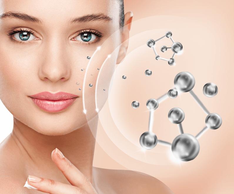 Collagen tự nhiên giúp cải thiện những đường nếp nhăn sâu.