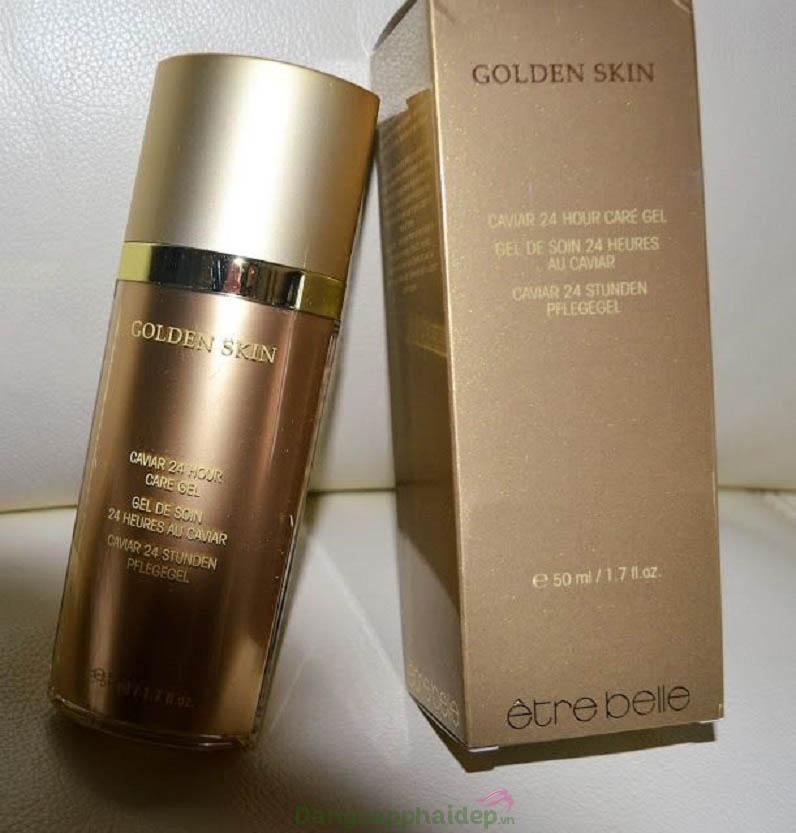 "Etre Belle Golden Skin Caviar 24 Hour Care Gel - ""Bí quyết"" dưỡng ẩm, trẻ hóa da từ vàng 24k"