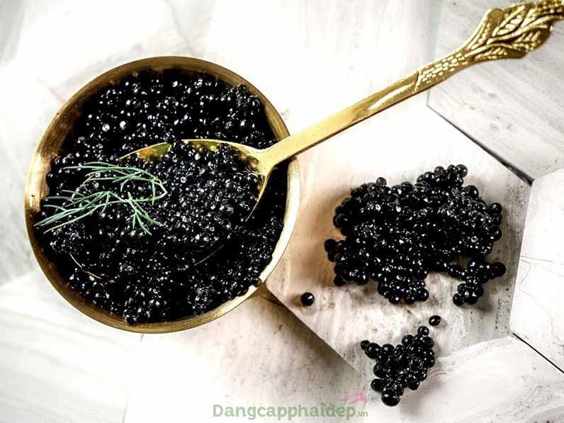 Trứng cá muối caviar quý hiếm